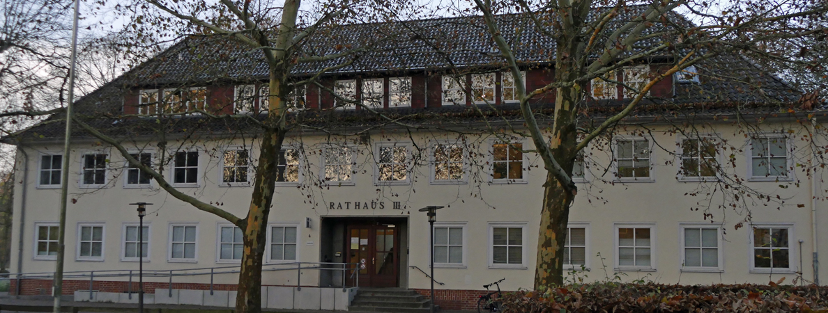 Banner Rathaus III Winter