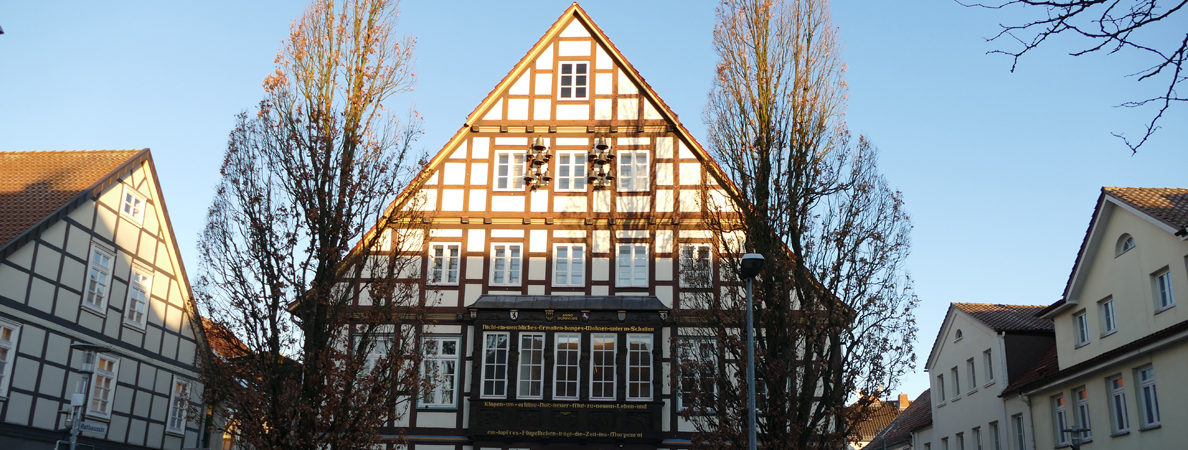 Rathaus I Winterbanner