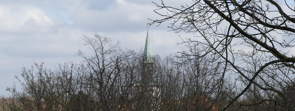 Banner Kirchturm