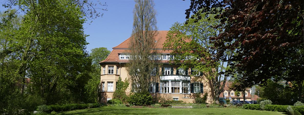 Rathaus II Rückseite Frühling