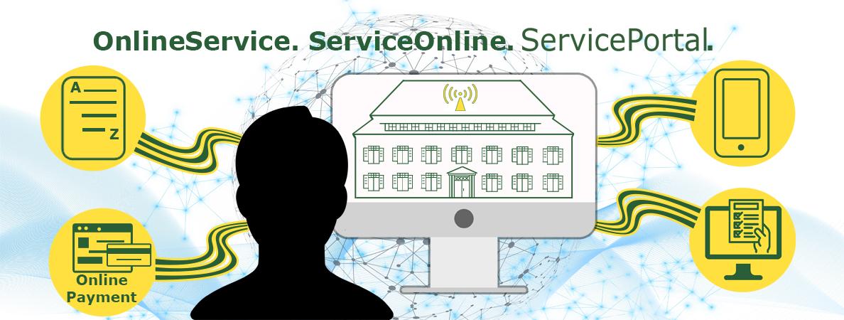 Banner Bewerbung ServicePortal