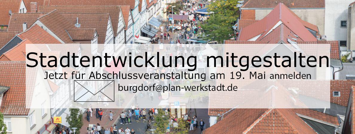 Banner Workshops Stadtentwicklung